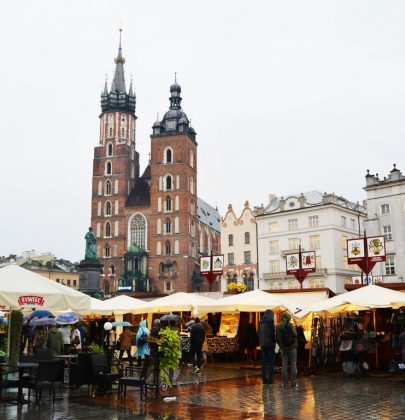 Cracovie : La foire Saint Michel