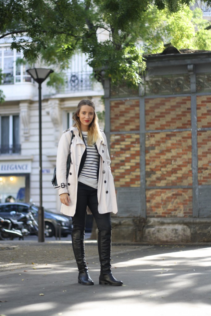 blog mode look paris style
